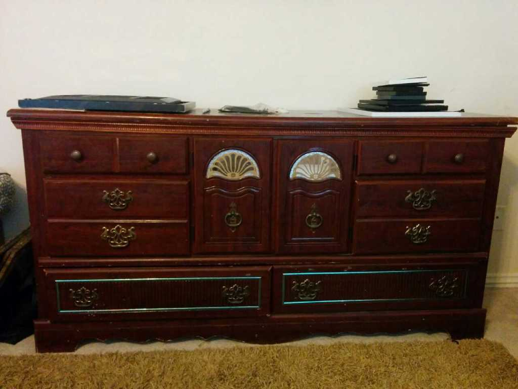Picture of: Cherry Armoire Dresser