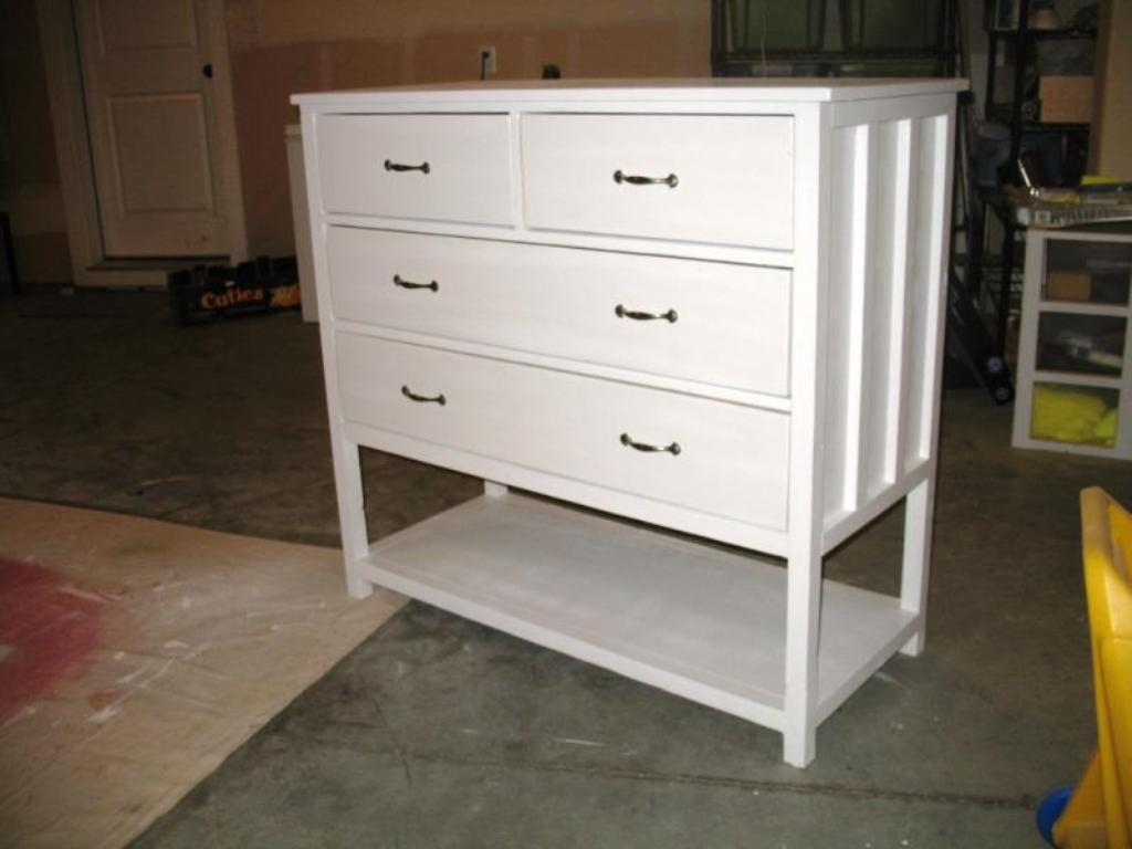 Image of: Comfortable Dresser Changing Table Combo