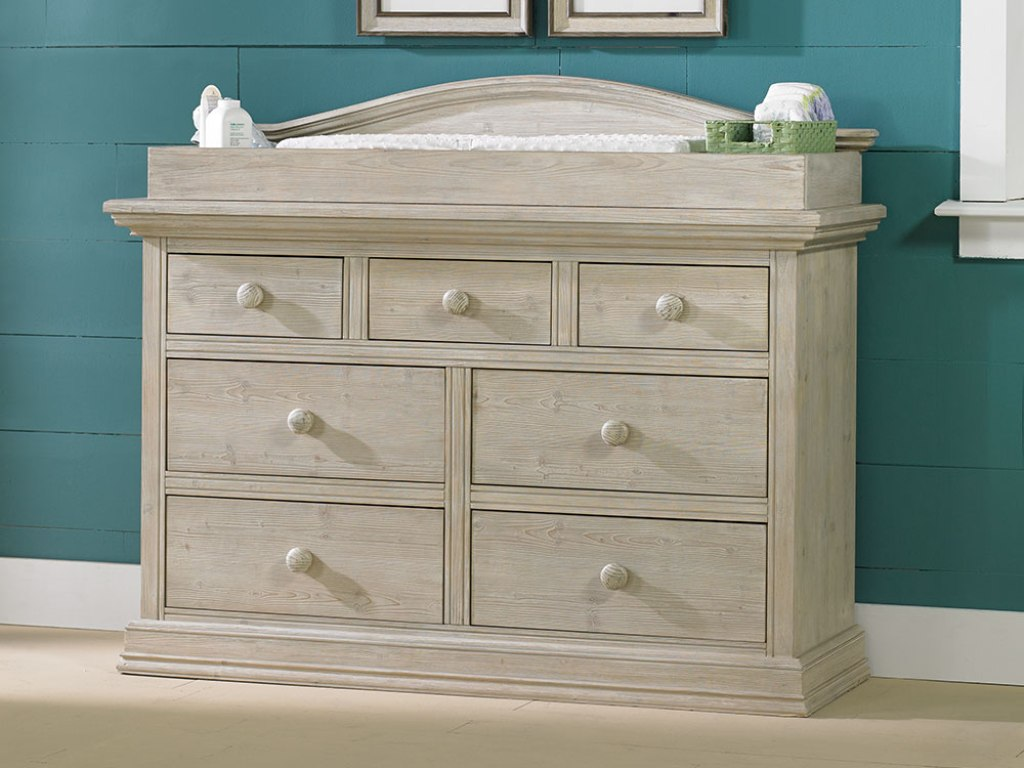 Image of: Cozy Dresser Changing Table
