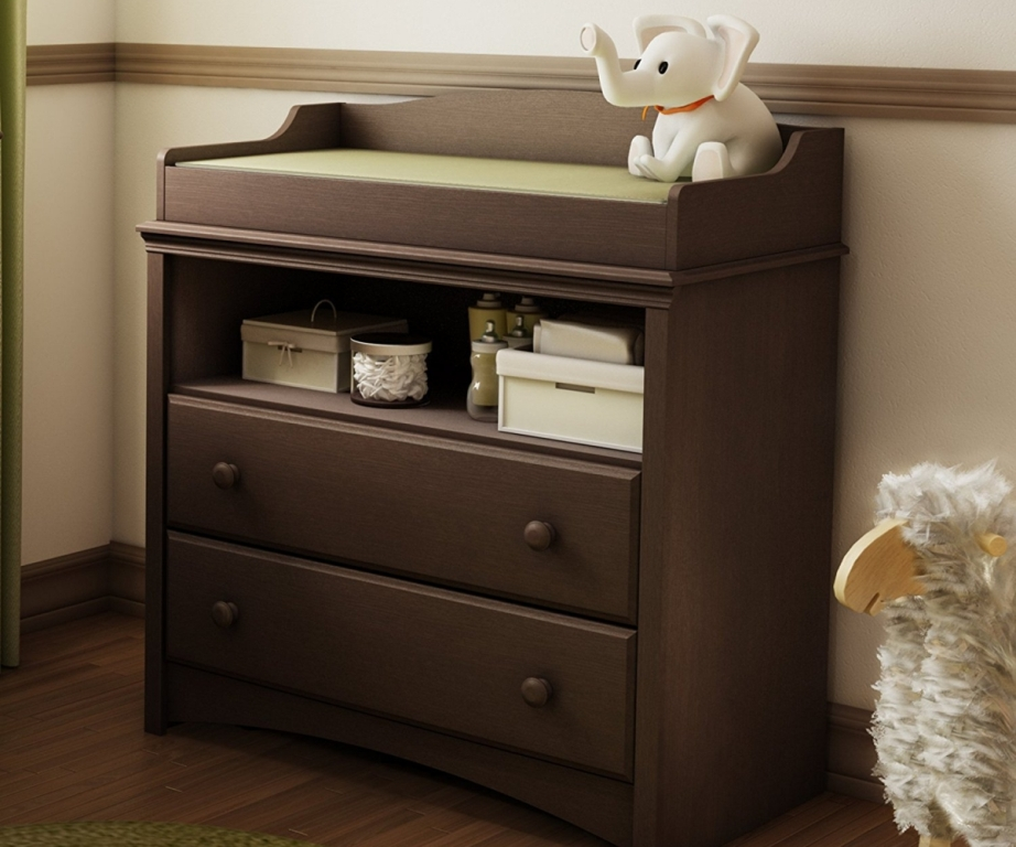 Picture of: DIY Dresser With Changing Table Ideas
