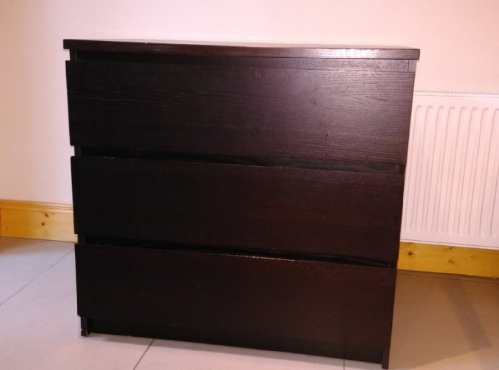 Picture of: Dark Brown Dresser And Chest