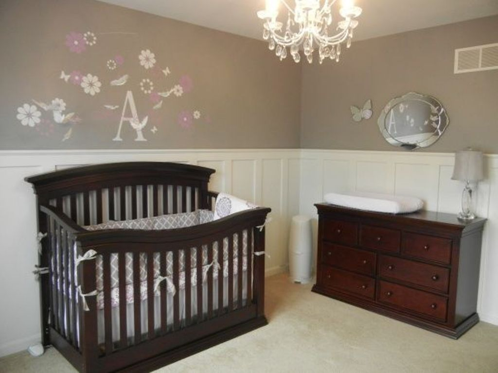 Image of: Dark Cherry Dresser For Nursery