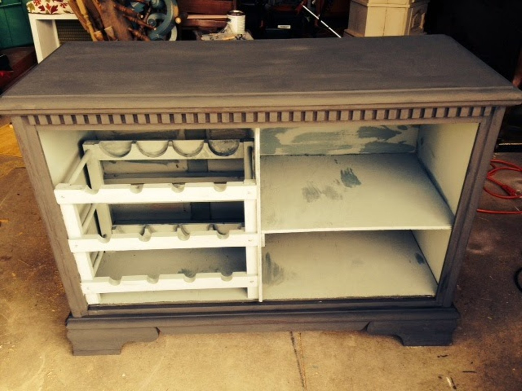 Picture of: Diy Dressers Into Bar