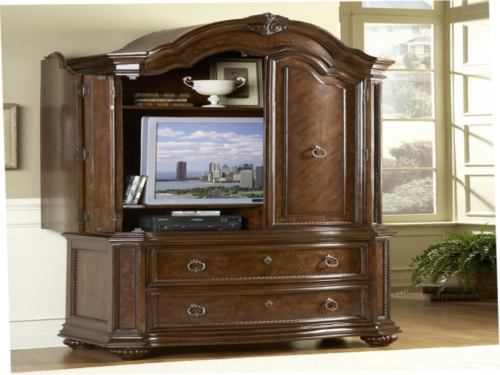 Image of: Dresser And Armoire Set