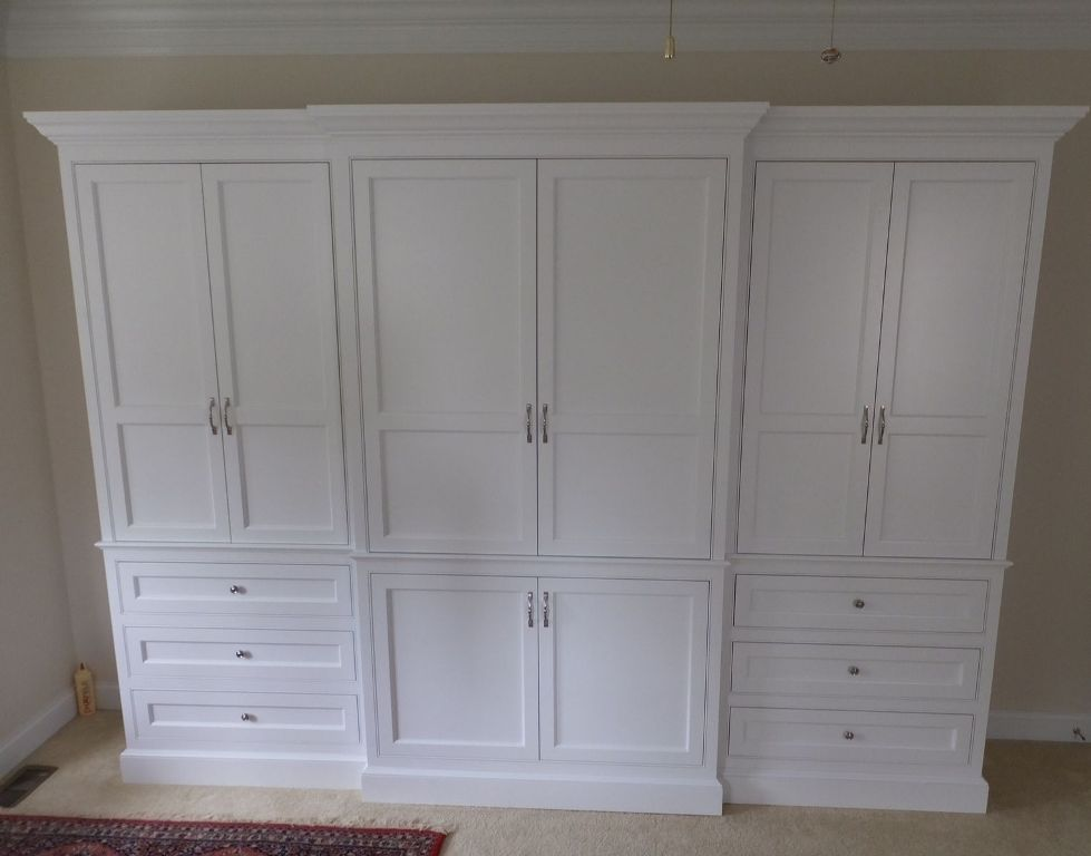 Image of: Dresser Armoire Combo Door