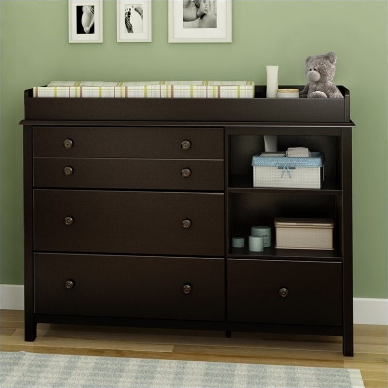 Image of: Dresser Changing Table Combo Diaper