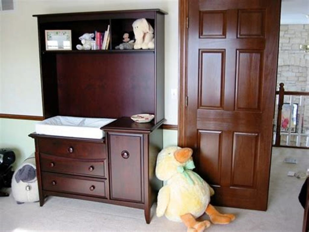 Image of: Dresser Changing Table Combo Ideas
