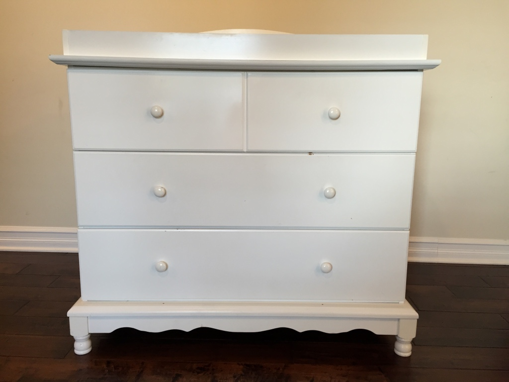 Image of: Dresser Changing Table Combo