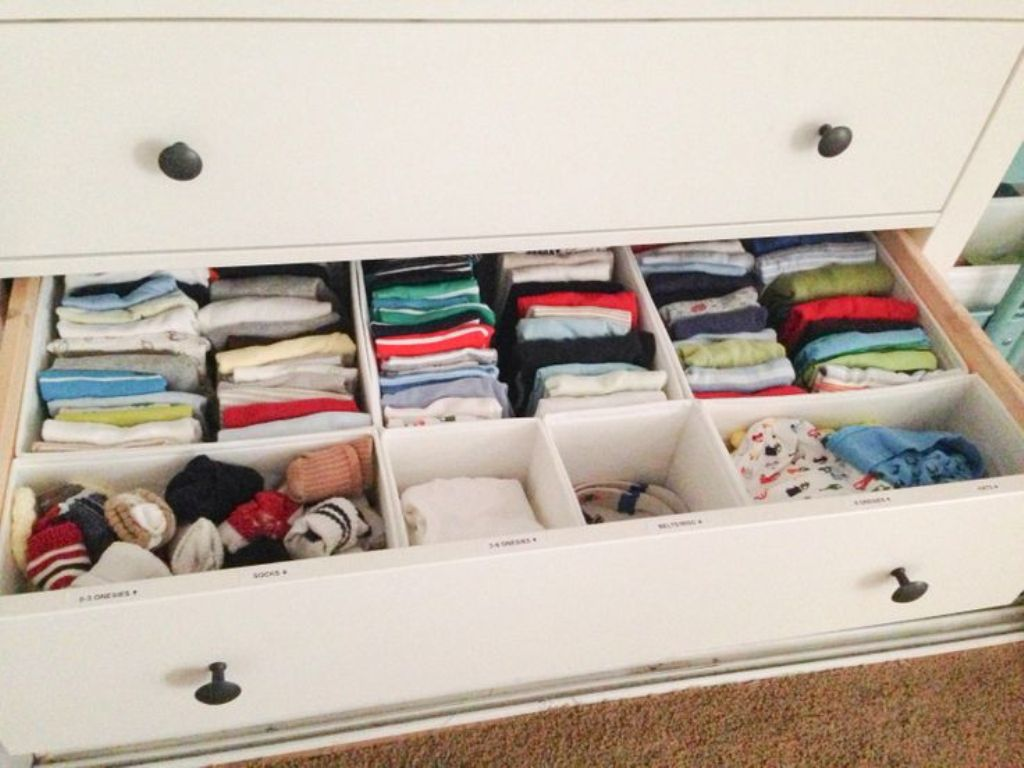 Image of: Dresser Drawer Organizer Tips