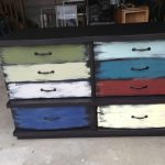 Dresser With Different Colored Drawers Diy