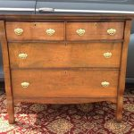 Dresser With Lockable Drawers