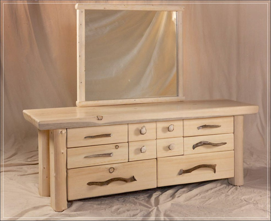 Image of: Farmhouse Dresser Pottery Barn