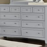 Gray Distressed Dresser