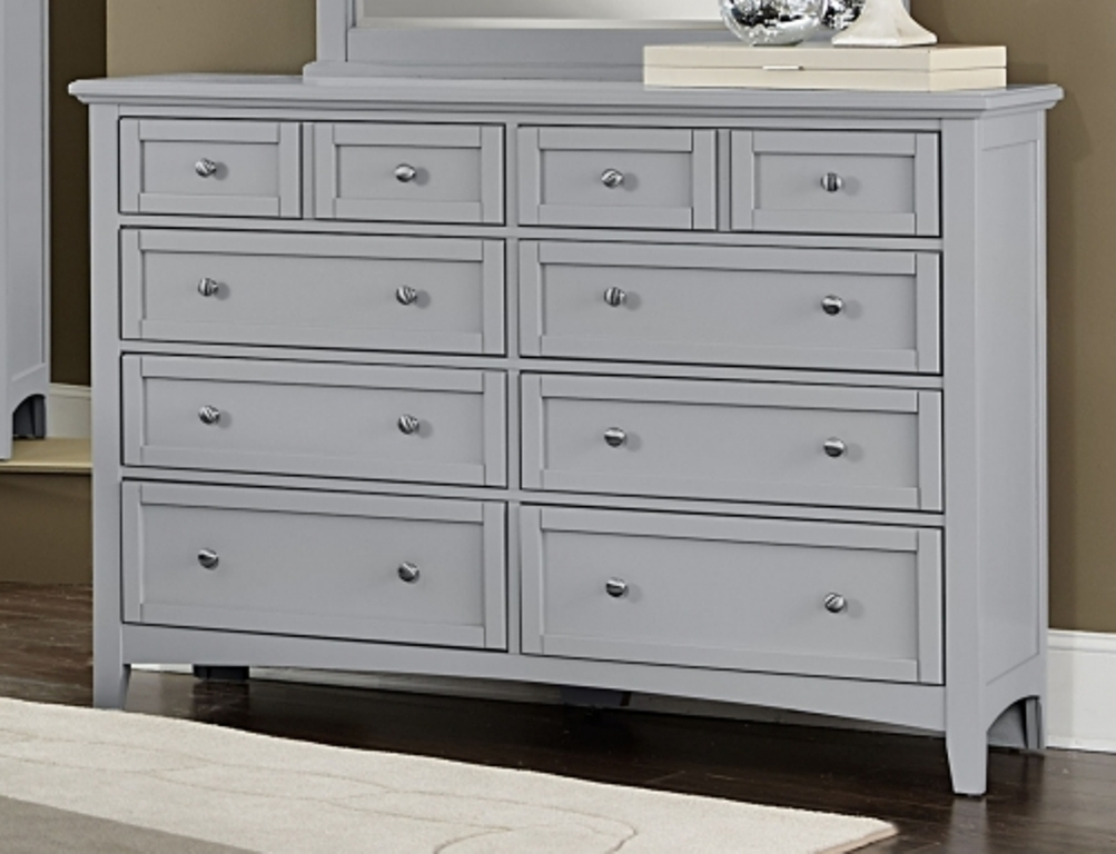 Image of: Gray Distressed Dresser