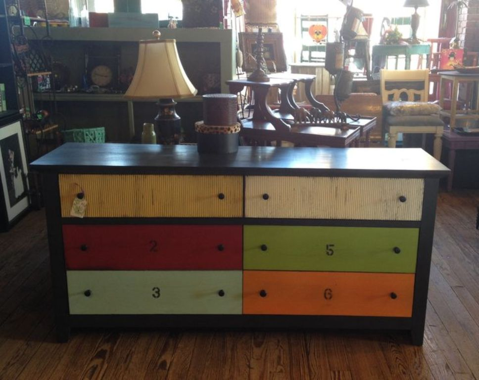 Picture of: Multi Colored Dressers