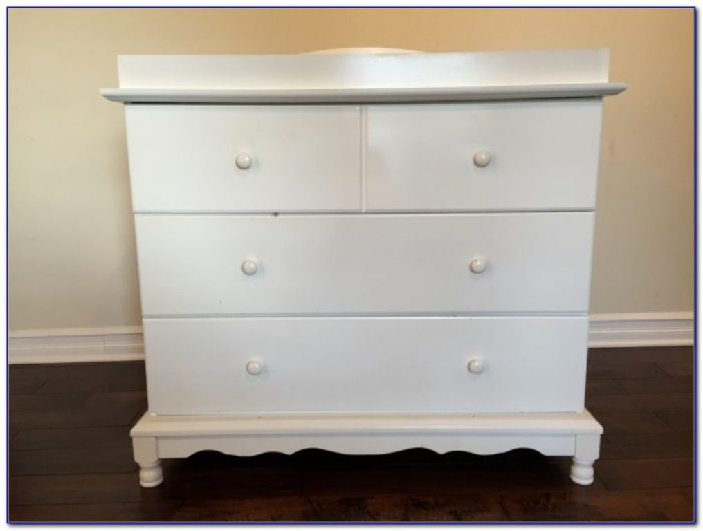 Picture of: Oak Dresser Changing Table