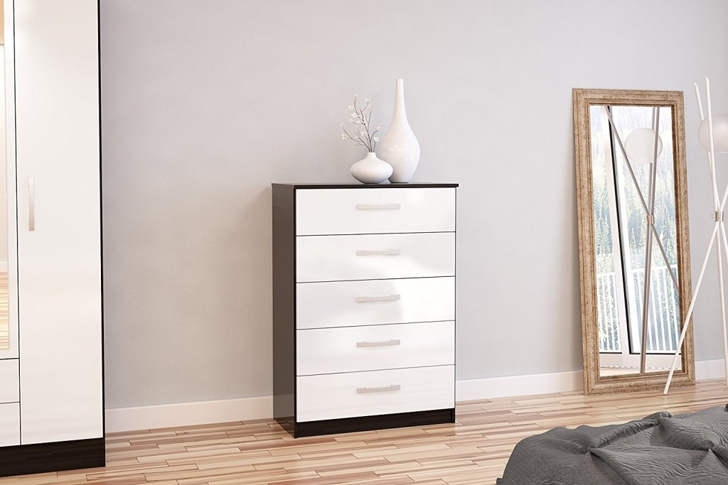 Image of: Perfect Drawer Dresser White