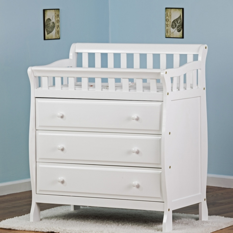 Image of: Placed Dresser Changing Table