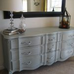 Rustic Antique Grey Dresser