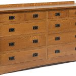 Solid Wood 10 Drawer Dresser