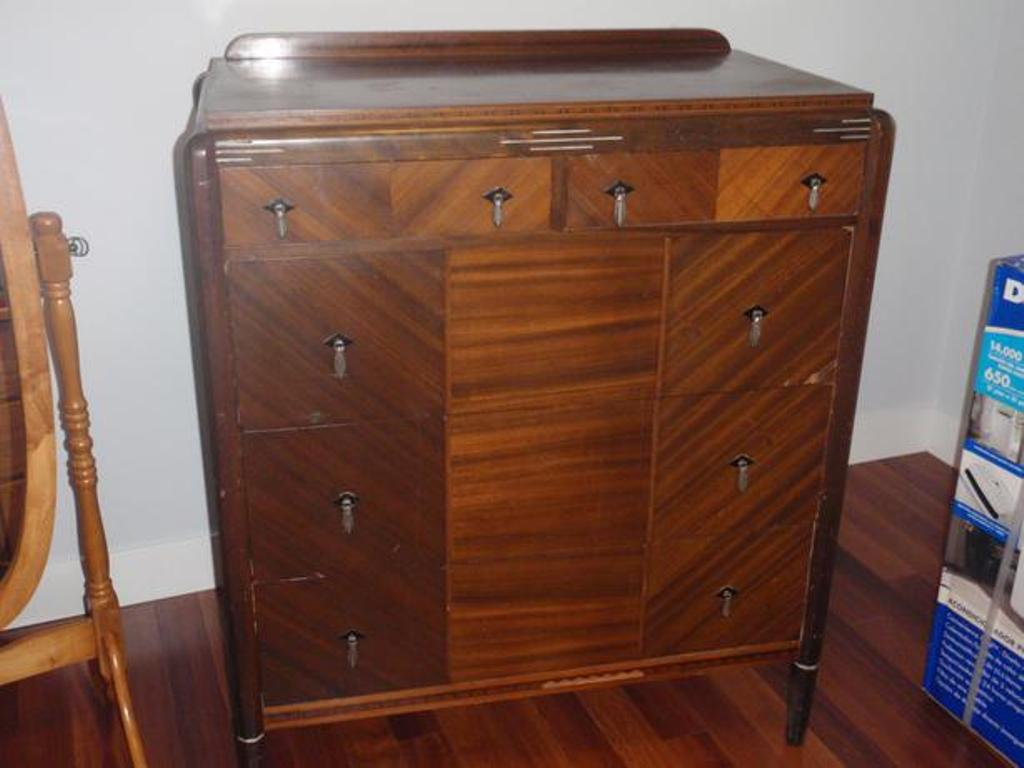 Picture of: Solid Wood Dovetail Dresser