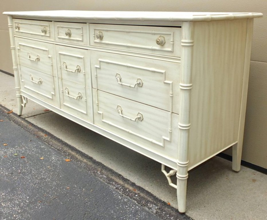 Thomasville Faux Bamboo Bedroom Furniture