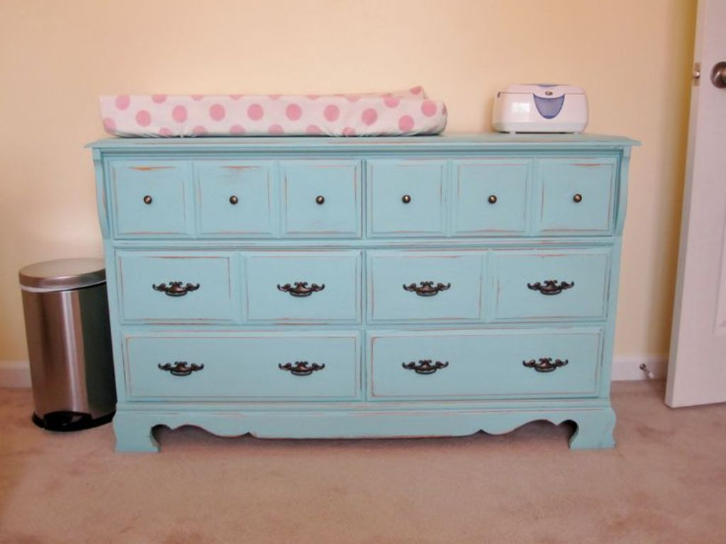 Image of: Used Changing Table