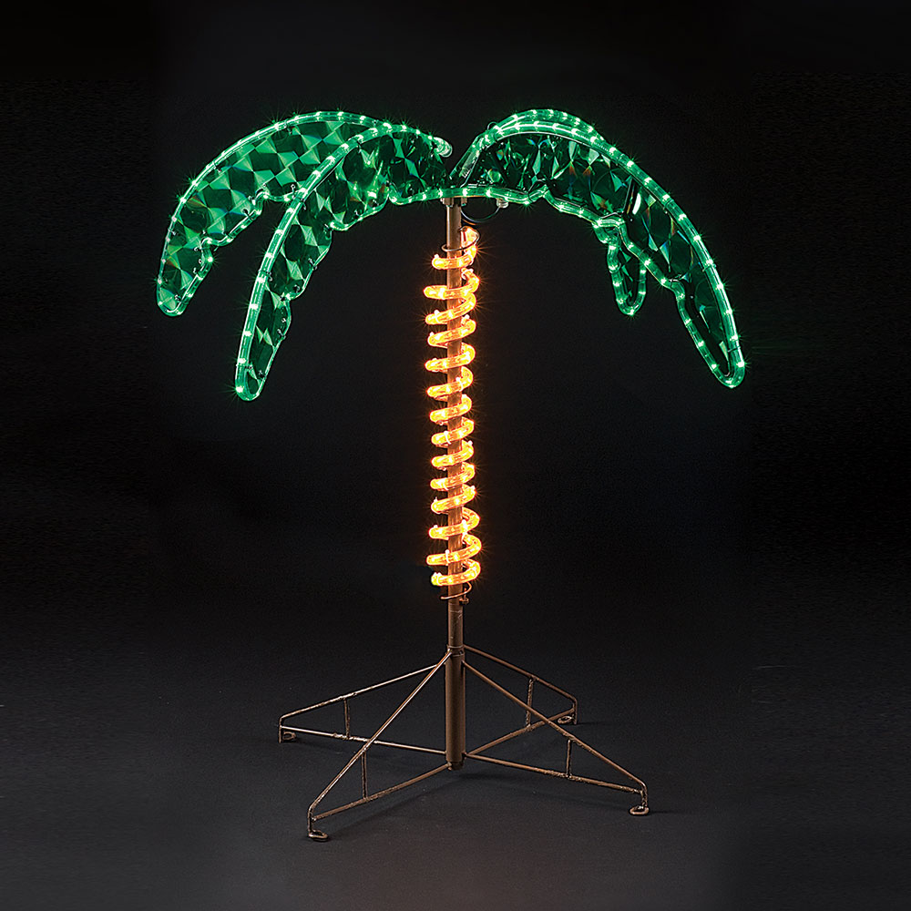 Picture of: 30 Inch Outdoor Lighted Palm Tree