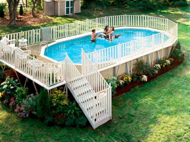 Above Ground Pool Fence Ideas Plan