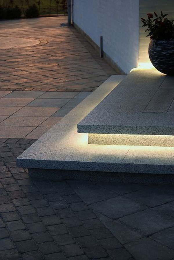 Picture of: Addition Led Step Lights Outdoor