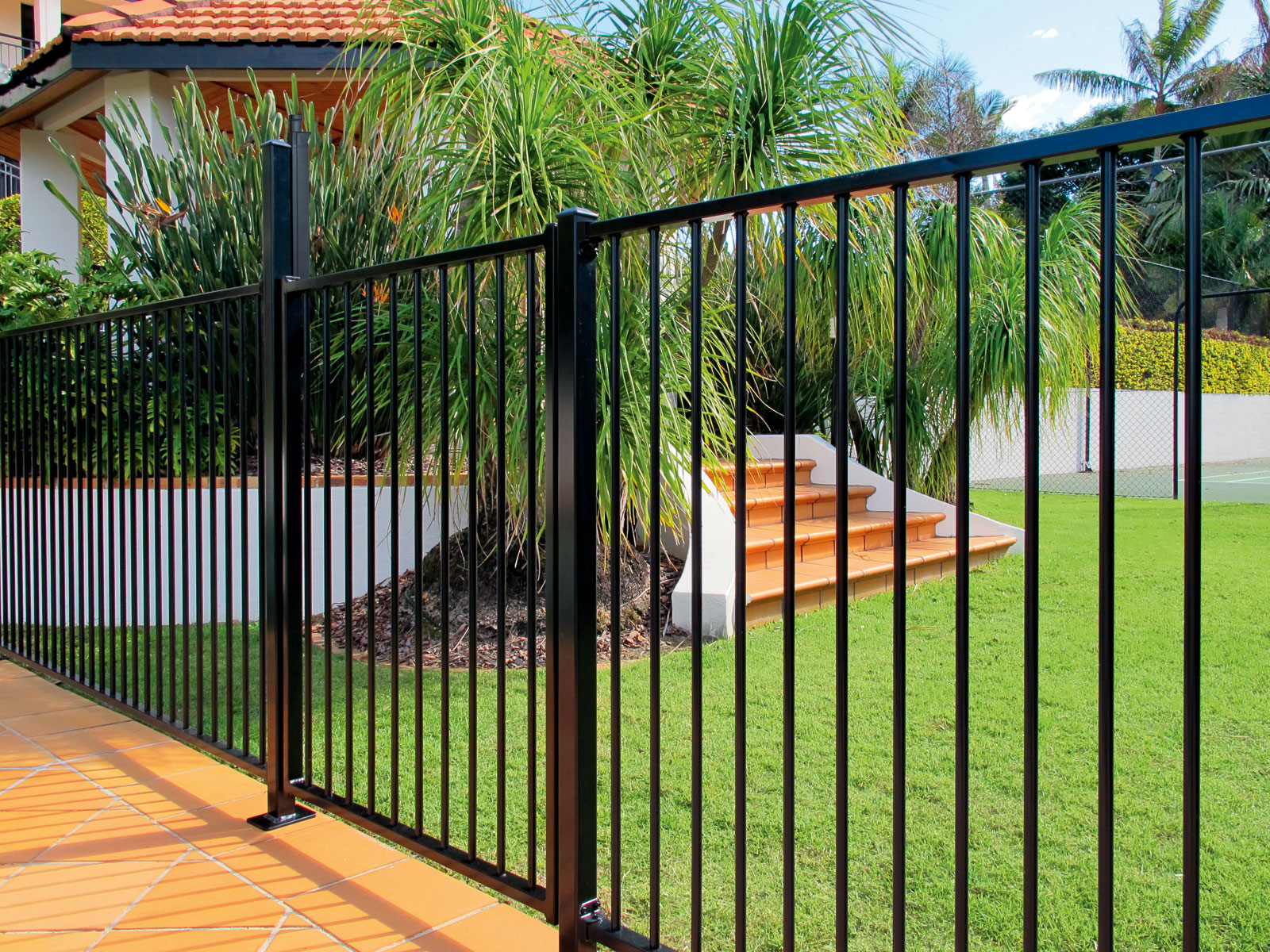 Bizarre Yet Awesome Black Fence Panels