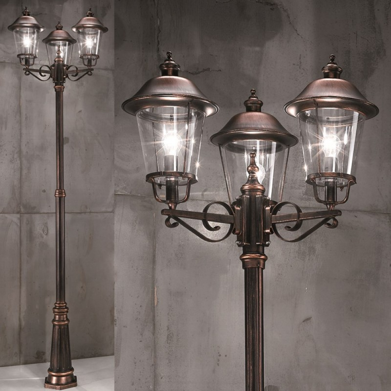 Picture of: Amazing Copper Outdoor Lighting