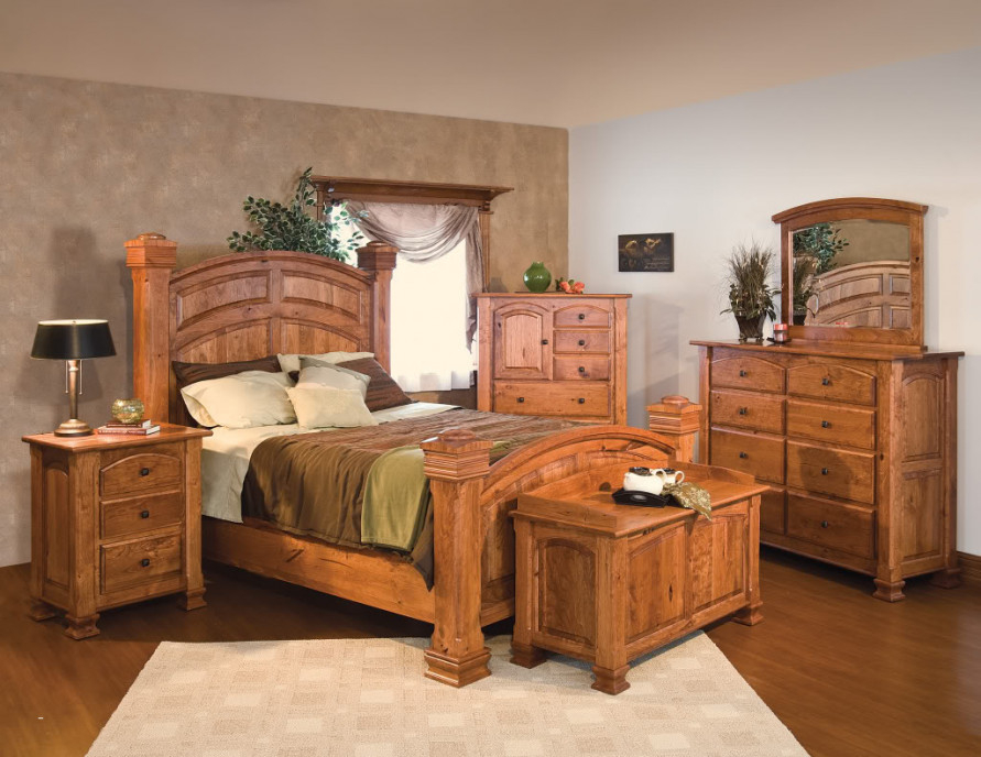 Image of: Amazing Solid Wood Bedroom Sets