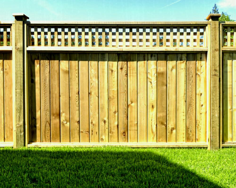 Picture of: Amazing Types of Wood Fences