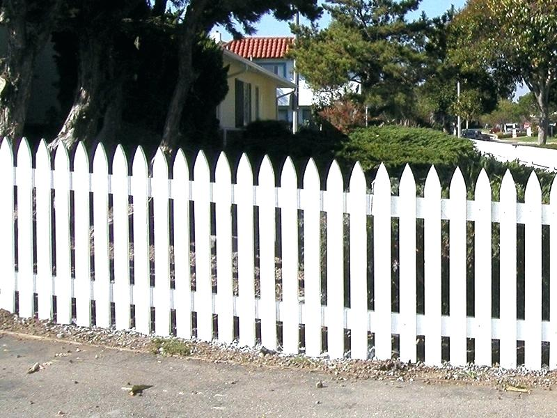 Ideas For Install Wood Picket Fence Panels