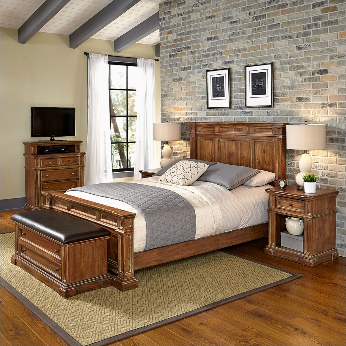 American Furniture Bedroom Sets Oak