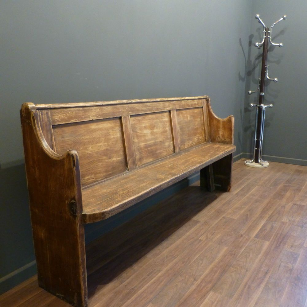 Picture of: Antique Wooden Bench Distressed