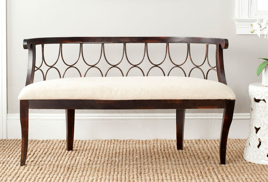 Picture of: Antique Wooden Bench Images