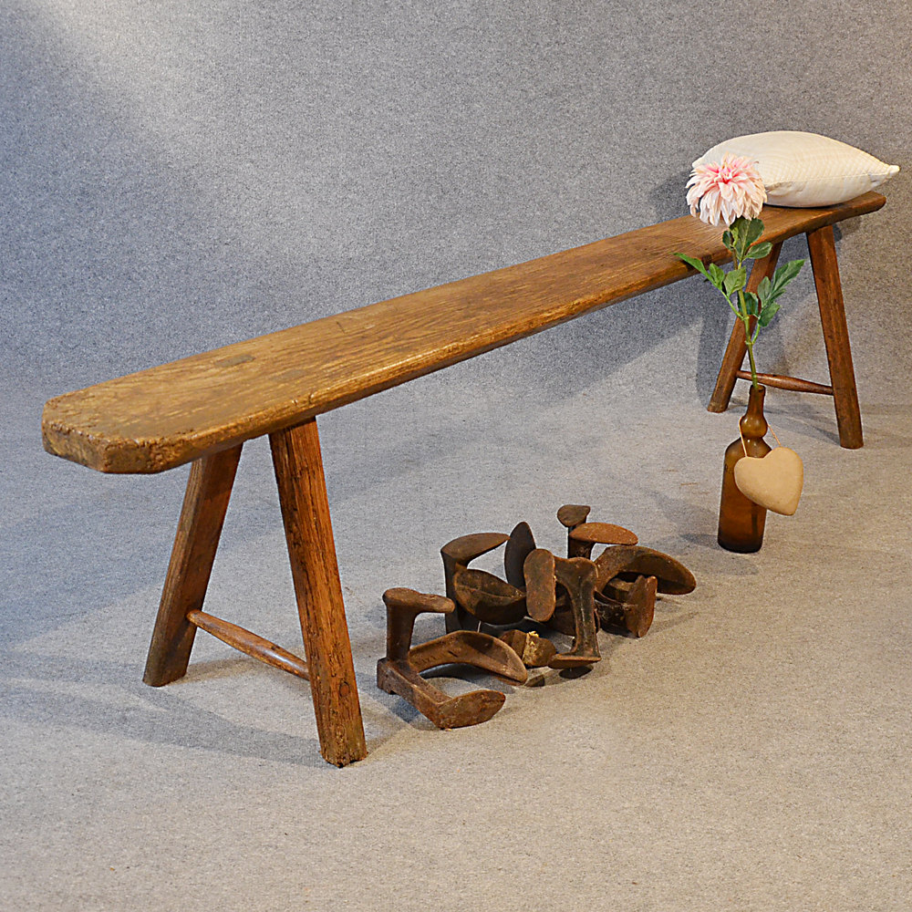 Picture of: Antique Wooden Bench Seat