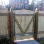 Arched Wood Fence Gate Designs