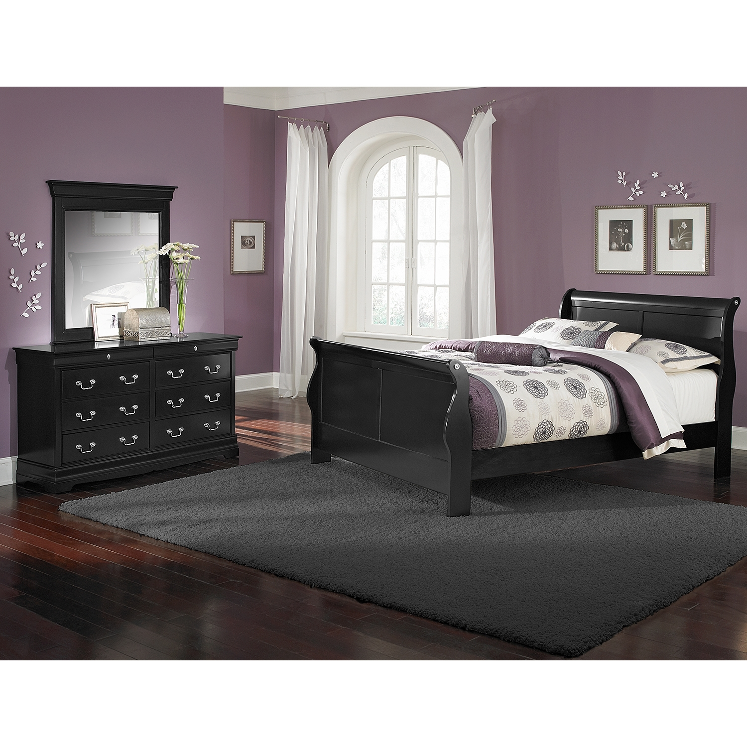 Ashley Furniture Black Bedroom Set Colors