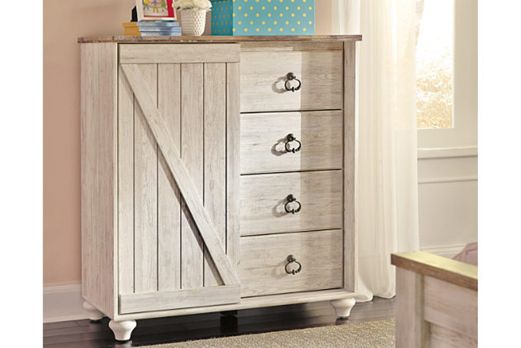 Image of: Ashley Furniture Willowton Chest