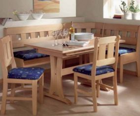 Ashley Furniture Wooden Kitchen Table with Bench