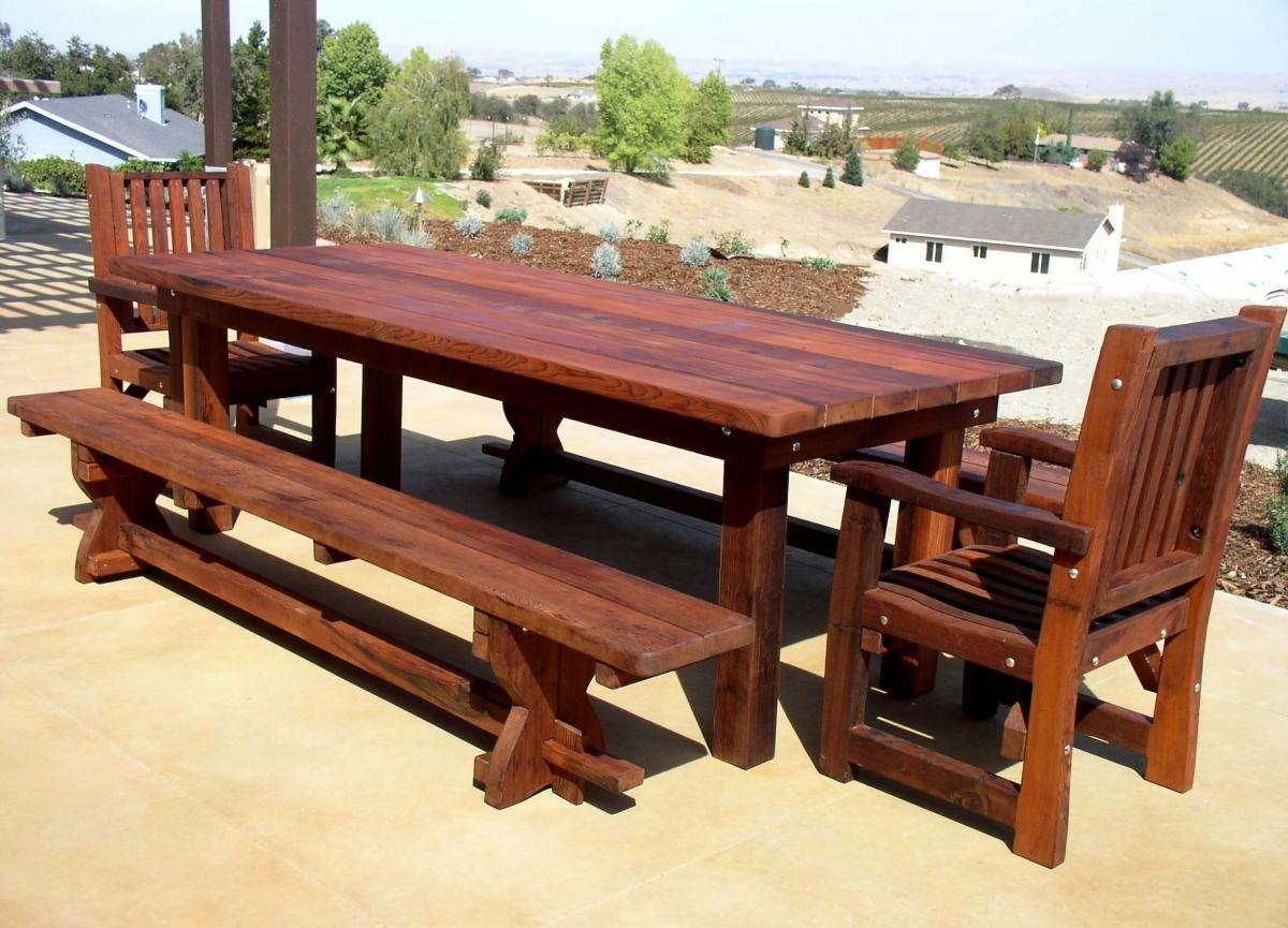 Picture of: Awesome Wooden Bench Design