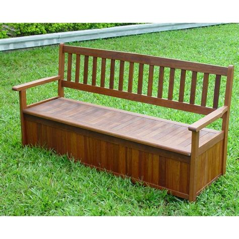 Picture of: Awesome Wooden Storage Bench