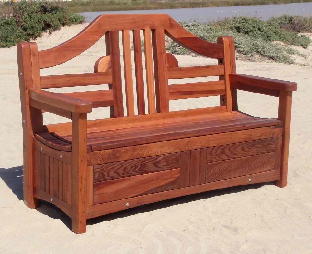 Wooden Bench With Storage: Trends This Year