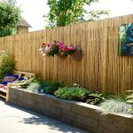 Bamboo 8 Ft Tall Privacy Fence Panels