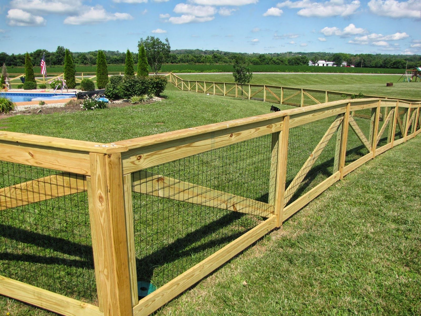 Picture of: Beautiful Build Your Own Dog Fence