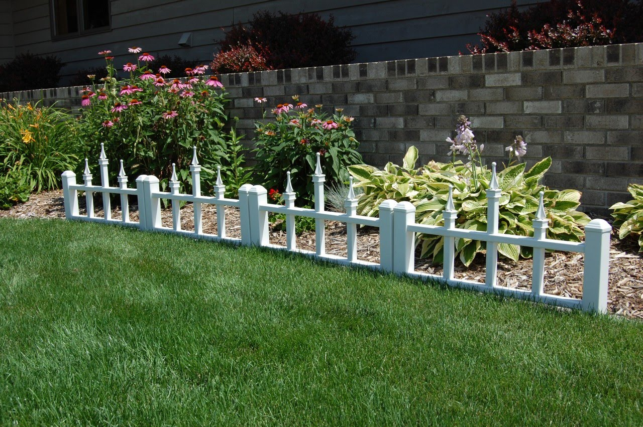 Decorate Rustic Garden Fence Ideas