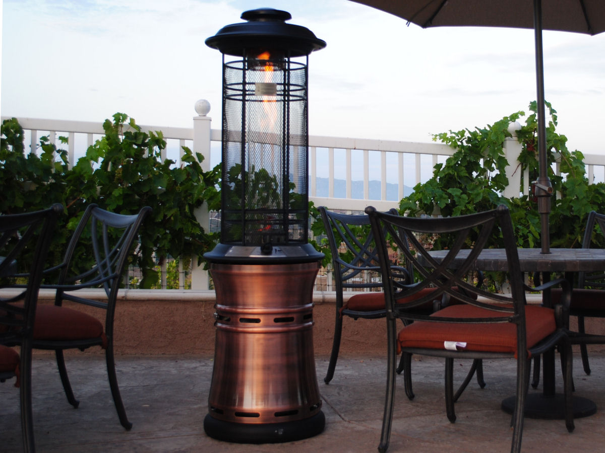 Beautiful Outdoor Heat Lamp